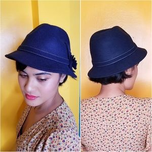Accessories - Classic Hollywood VTG style woman's fedora hat